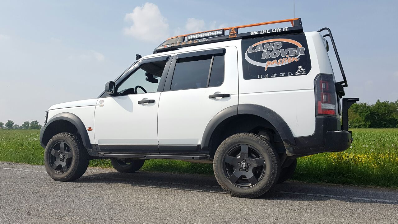 suspensions module easy lift for discovery 3 by land rover
