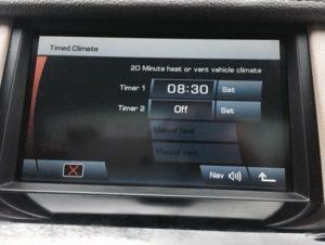 Software Service Land Rover Passion - Abilitazione Riscaldamento temporizzato su Discovery 4 e Range Rover Sport