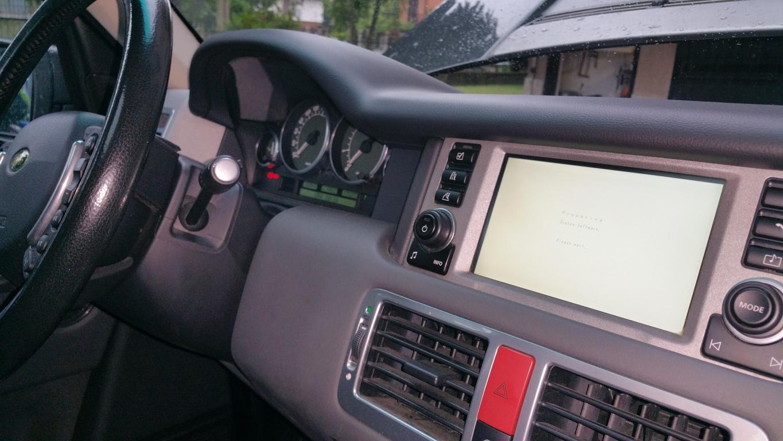 Software Service Land Rover Passion - Range Rover L322 Aggiornamento modulo Bluetooth