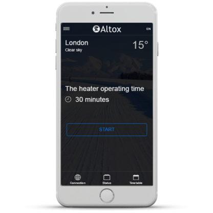 Altox App - Home