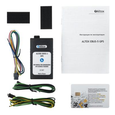 Altox EBus-5 GPS - Kit