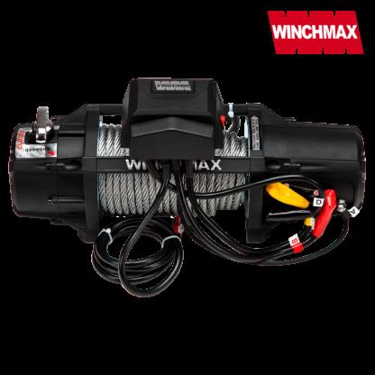 Verricello Winchmax SL 12V 13500lb Mil Spec Cavo Acciaio