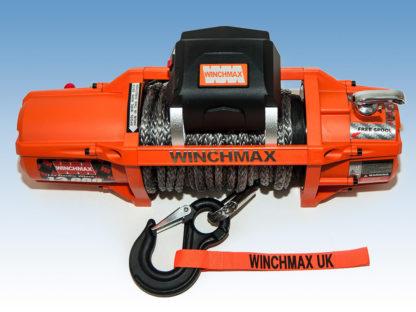 Verricello Winchmax SL 12V 13500lb Cavo sintetico