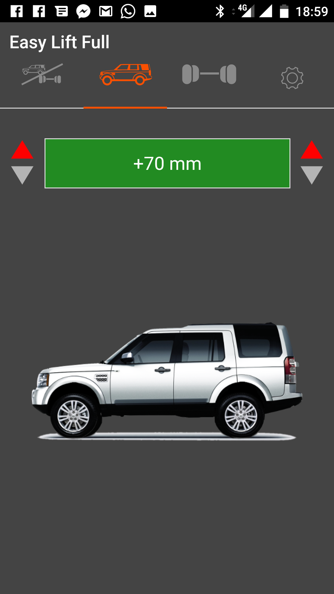 Suspensions module Easy Lift for Discovery 4 by Land Rover Passion