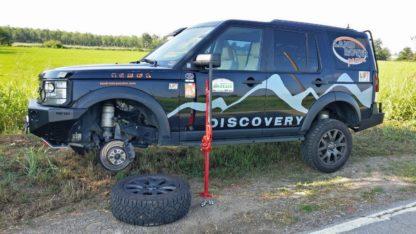 Hi-Lift Adapter Land Rover Passion