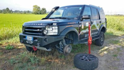 Hi-Lift Adapter Land Rover Passion