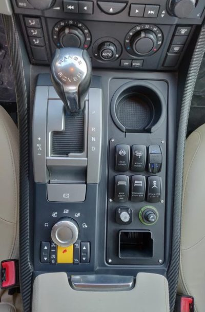 Land Rover Passion - Console RRS L320 (2)