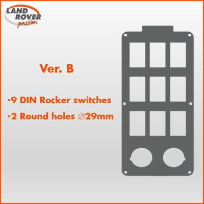 Land Rover Passion LRP - Console RRS L320 - Ver-B