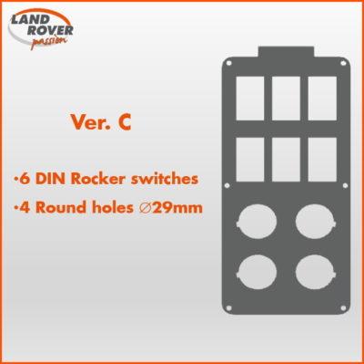 Land Rover Passion LRP - Console RRS L320 - Ver-C