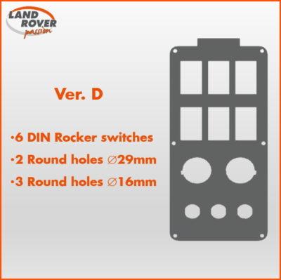 Land Rover Passion LRP - Console RRS L320 - Ver-D